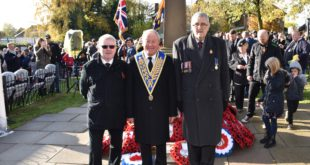 Remembrance Sunday November 10th 2019