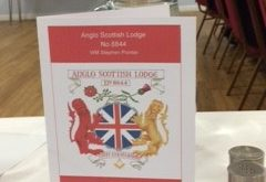 Corby and Chicheley Masons visit the Anglo Scottish Lodge in Sheaf Close